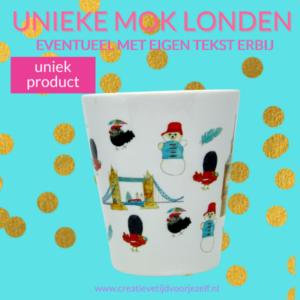 Koffiemok handgemaakt Londen