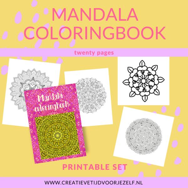 Mandala coloringbook
