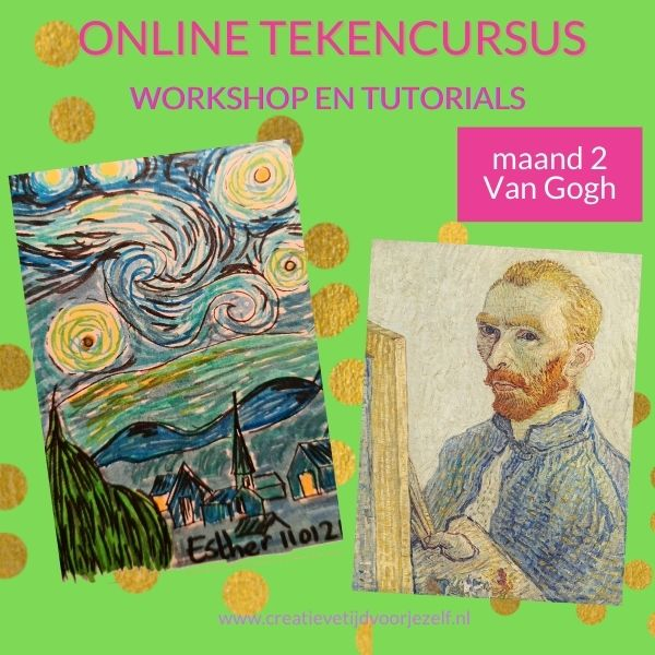 online tekencursus Vincent van Gogh