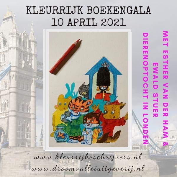 kleurrijk boekengala 10 april 2021