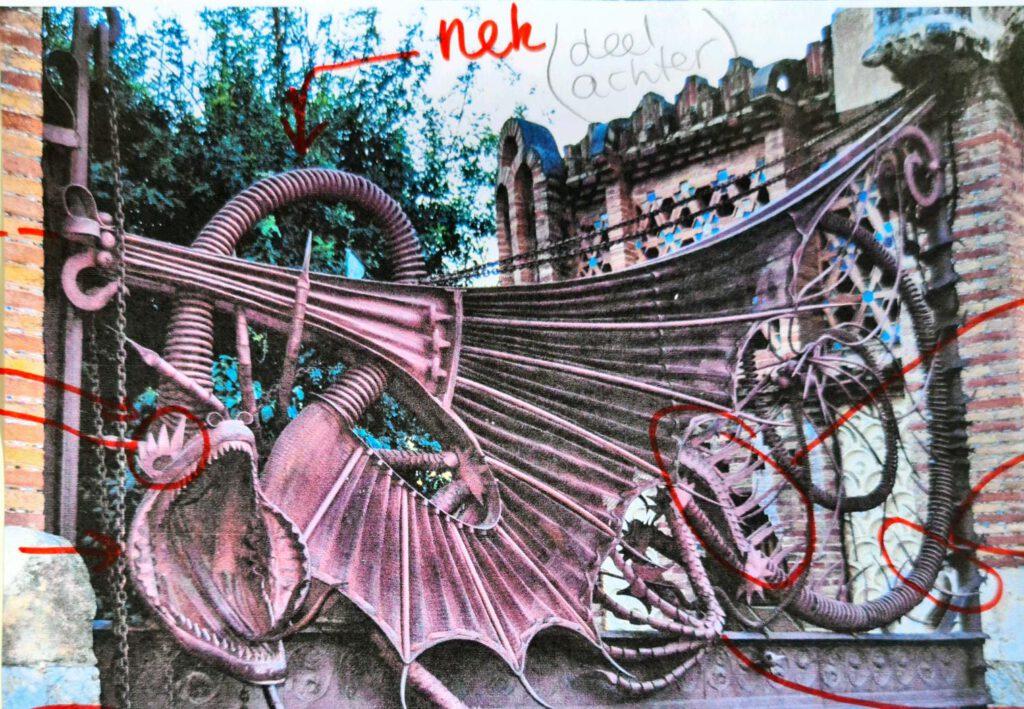 De draak van Gaudi: