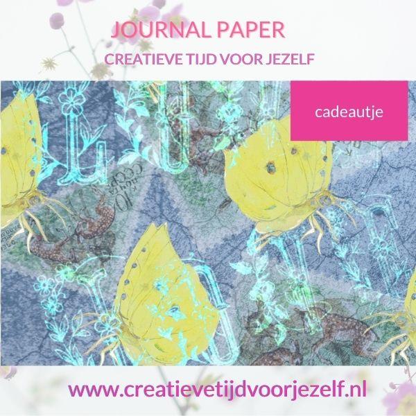 Journal papier printable