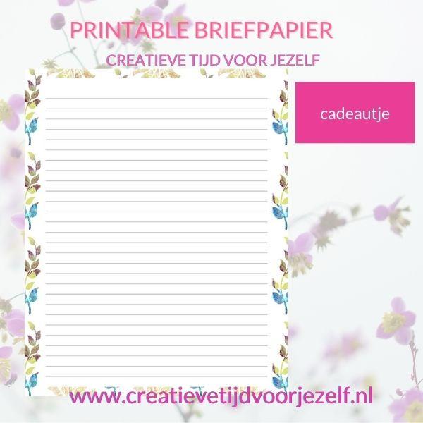 printable briefpapier