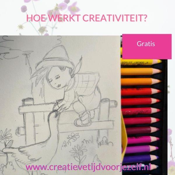 hoe werkt creativiteit