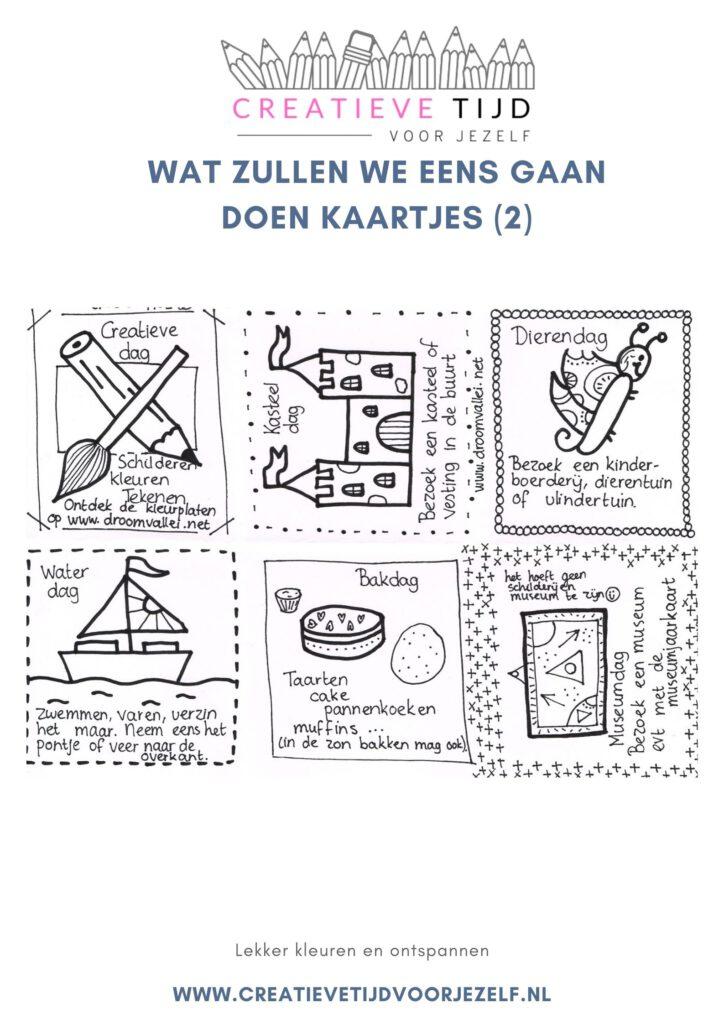 activiteitenkaarten