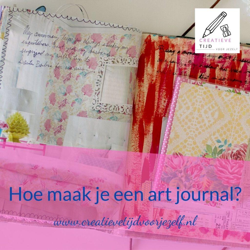 hoe maak je een art journal