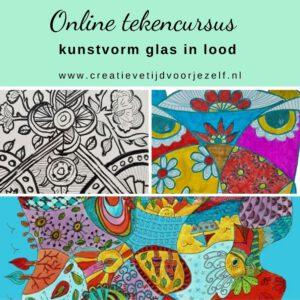 tekencursus glas in lood - kunstvormen