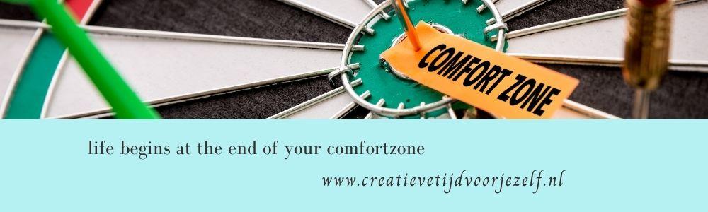 buiten je comfortzone: 8 voordelen.