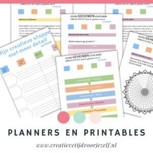 planner en printable